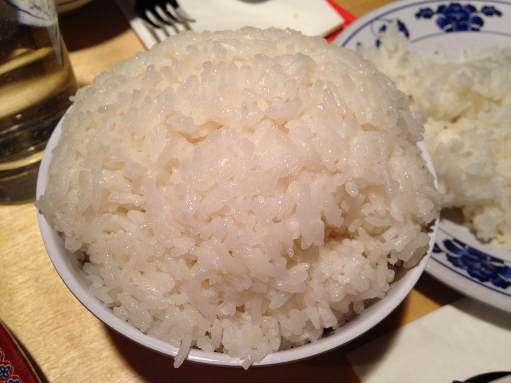 Coconut Rice (aka crack)
