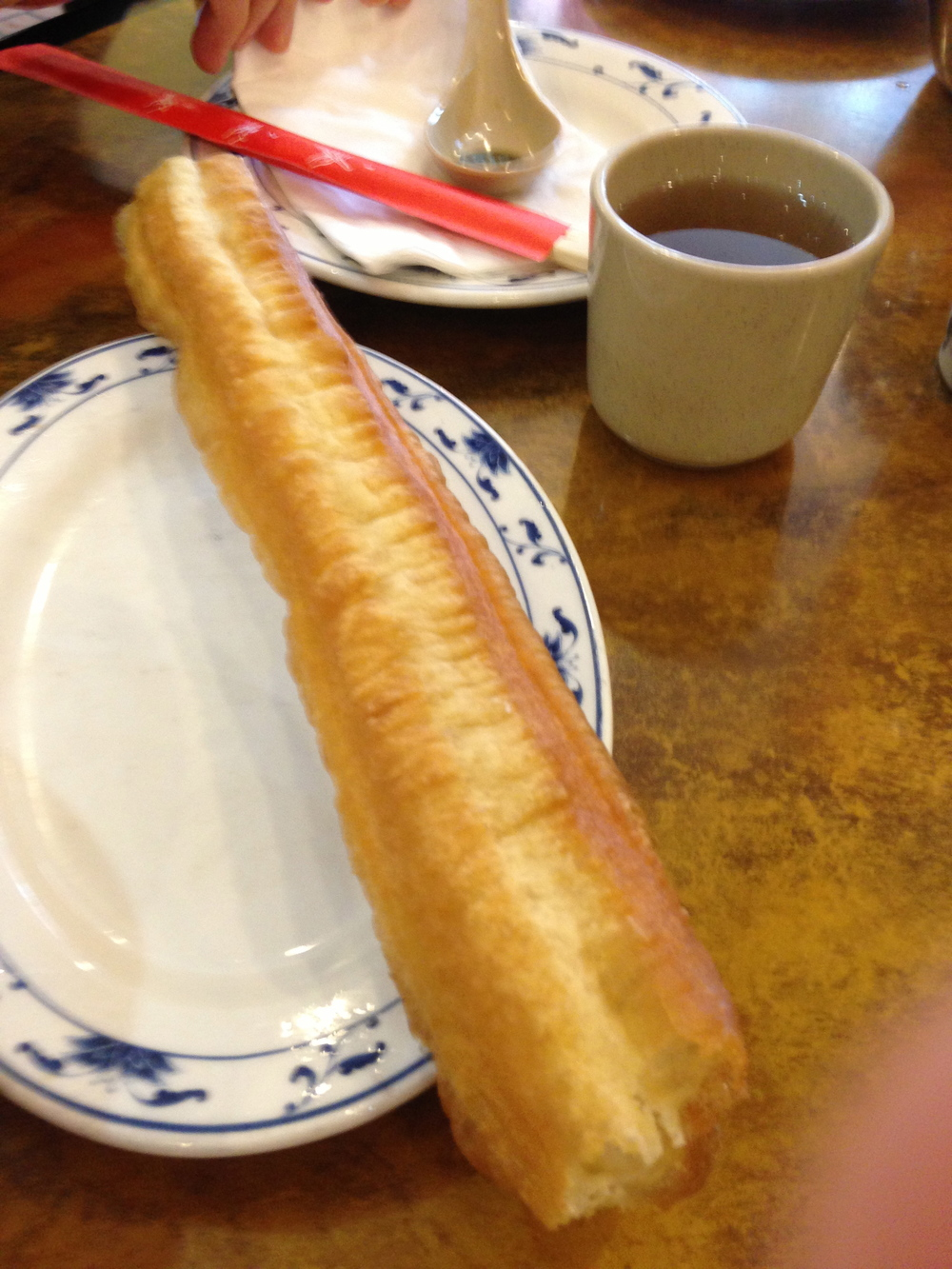 You Tiao (Chinese doughnut)