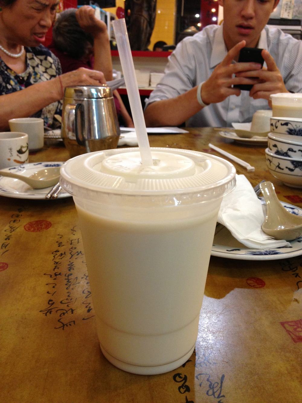 Sweetened Soy Milk