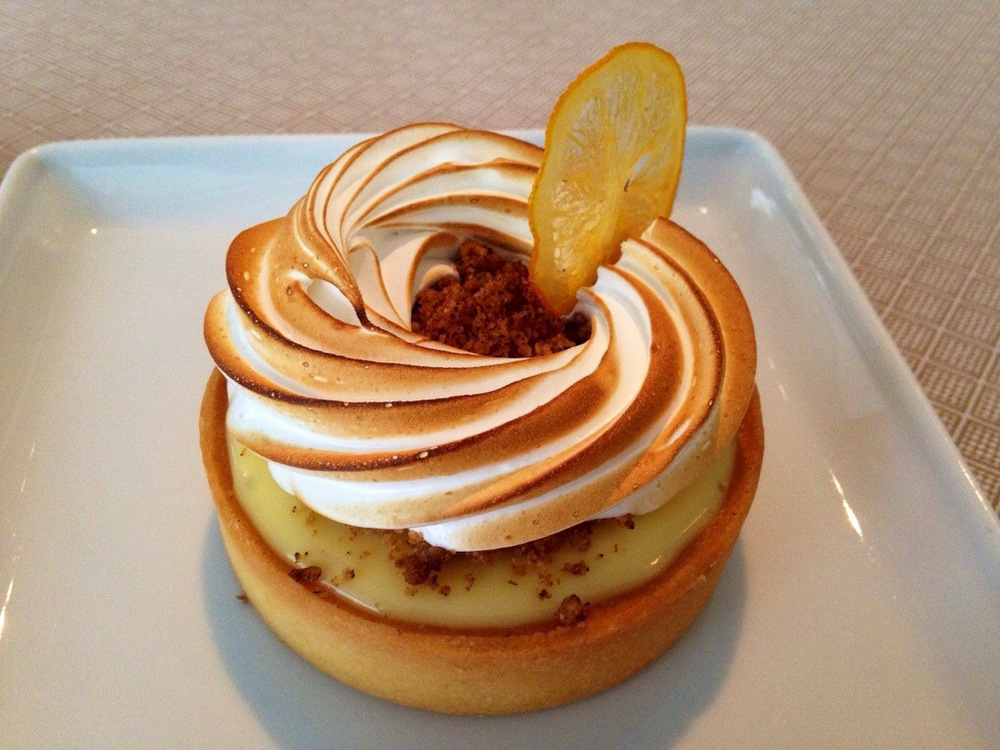 Lemon Tart with Meringue