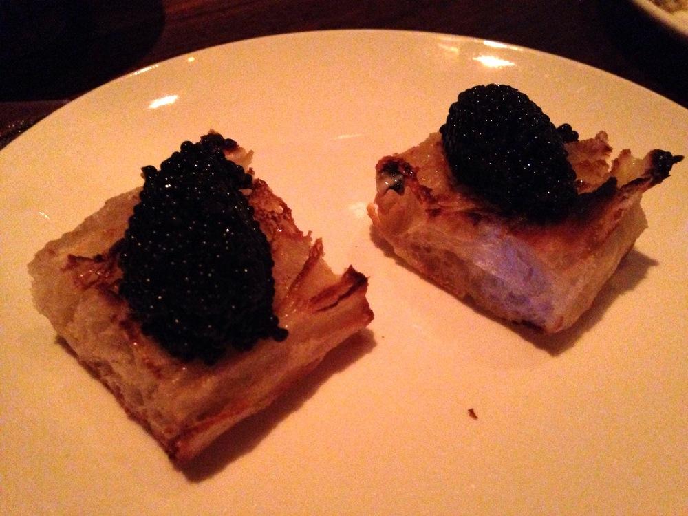Caviar Toast