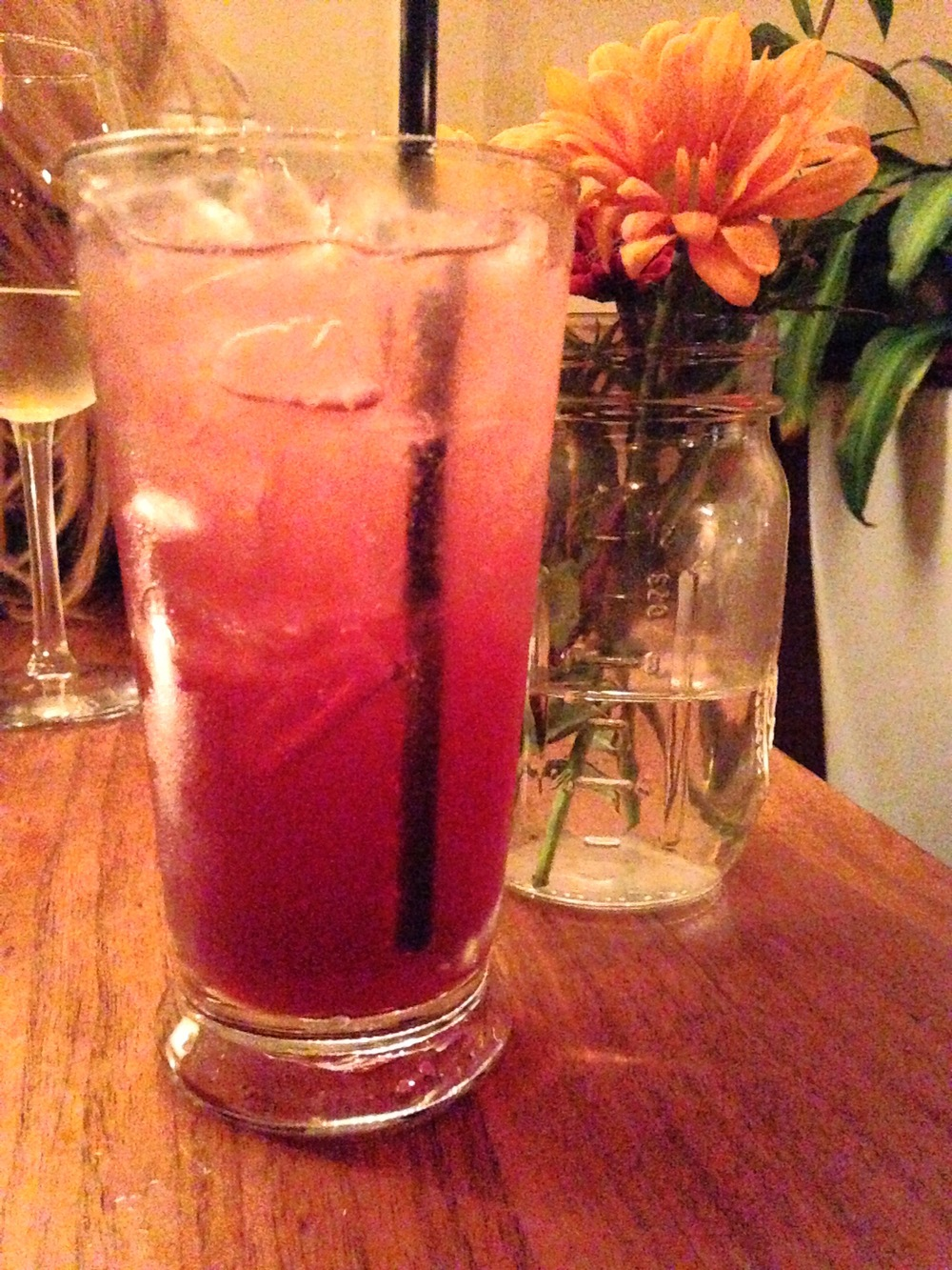 Hibiscus Ginger Ale