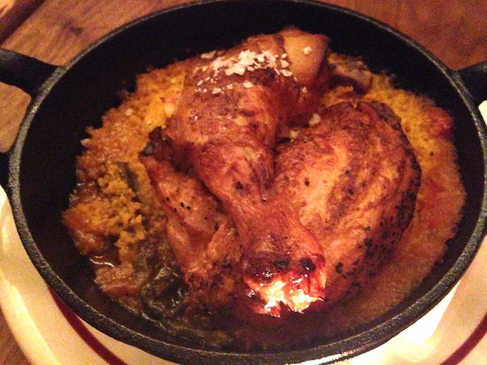 Moroccan Half Chicken