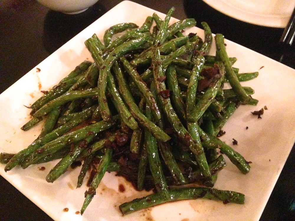 Dry Sauteed String Beans with Minced Pork