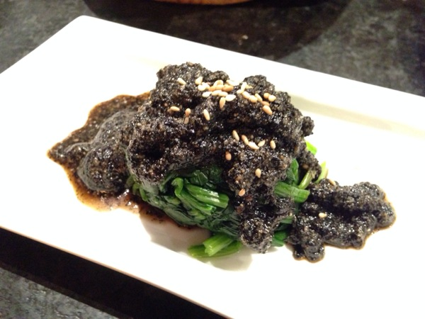Gomaae (spinach)