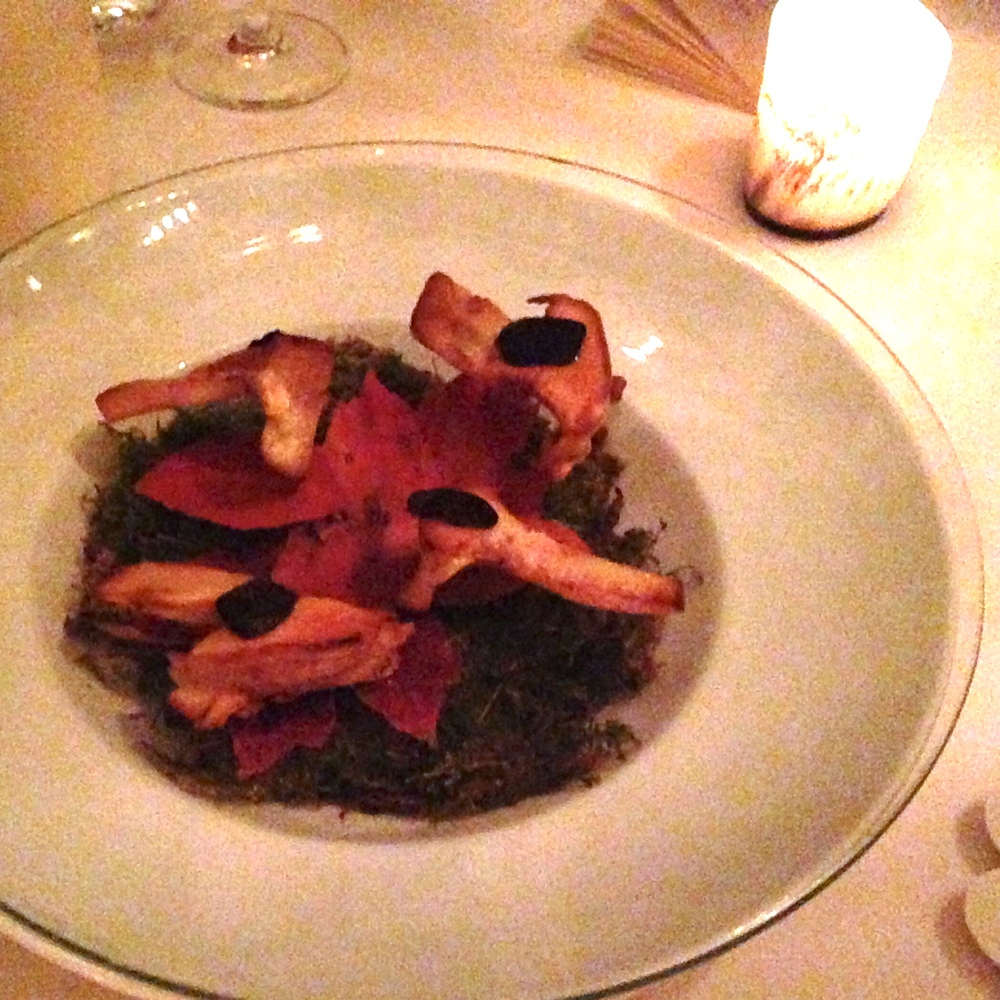 Matsutake Mushroom with Garlic