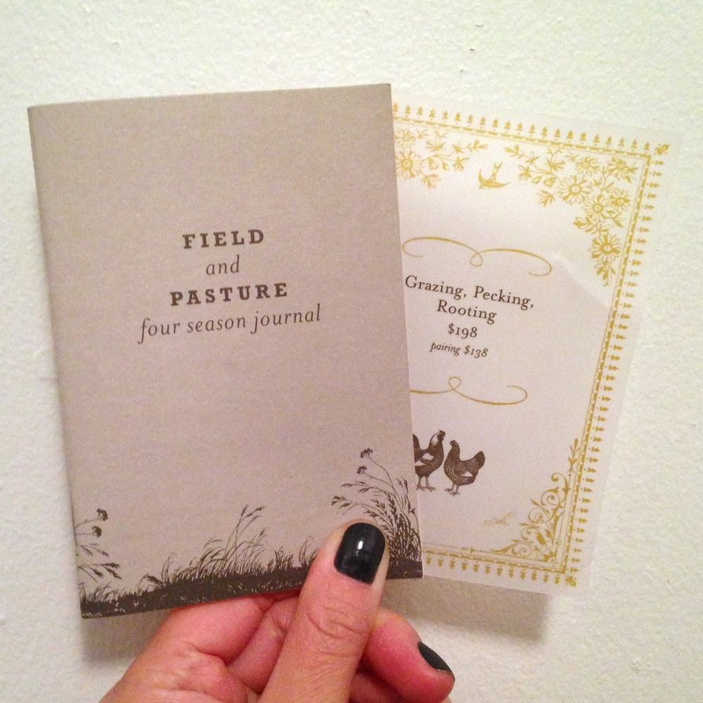 Field and Pasture Journal