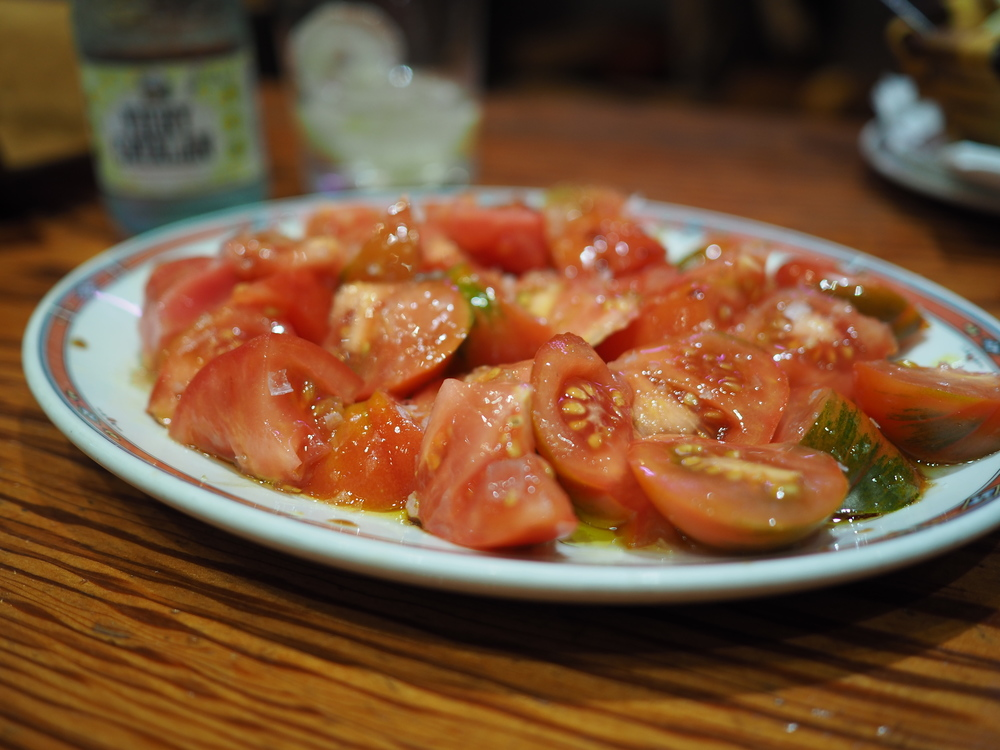 Tomato Salad at Bar Nestor