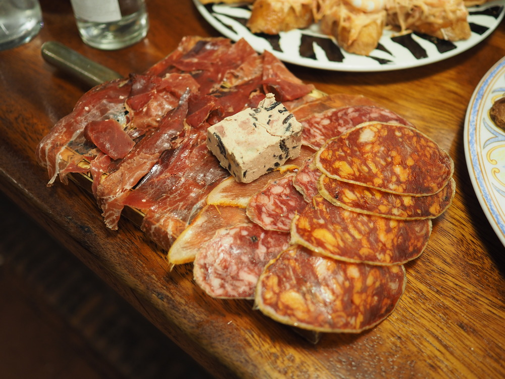 Jamon Platter at La Cepa