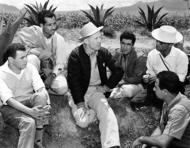 Dr. Borlaug in Mexico. CIMMYT Photograph.