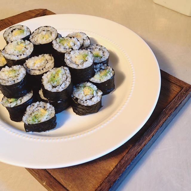 Homemade sush for the win!