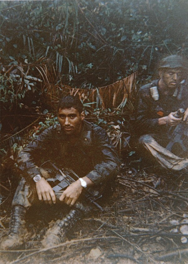 September 4, 1968. Sgt. Ankony and my RTO, Cpl. Ward