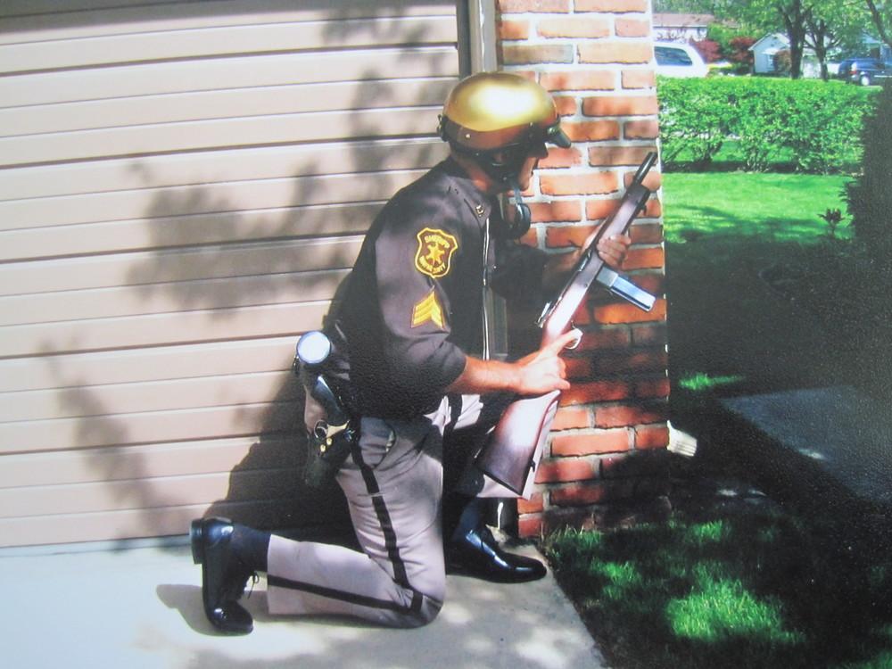 Deputy Sheriff with Reising Model 50