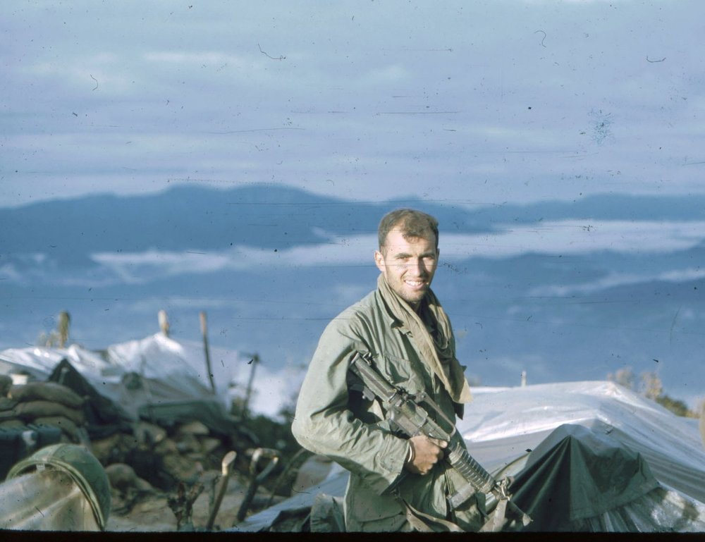 Sgt. Parkinson, Signal Hill, A Shau Valley