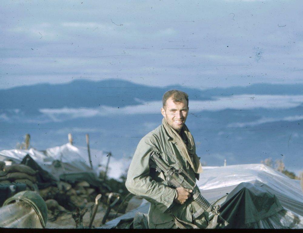 Sgt. Doug Parkinson, Signal Hill, A Shau Valley
