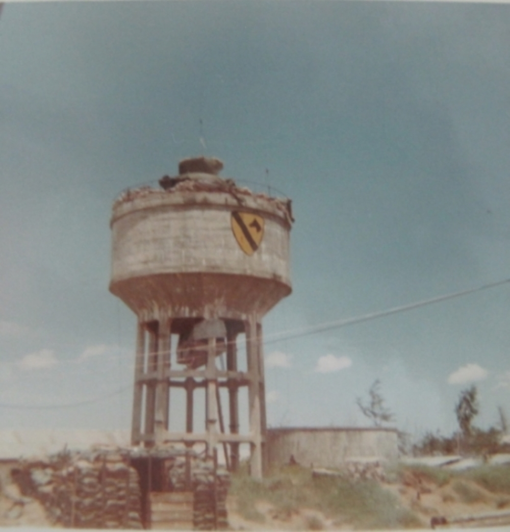 LZ Betty's water tower