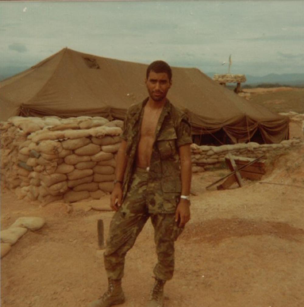 Sgt. Ankony, LZ Betty
