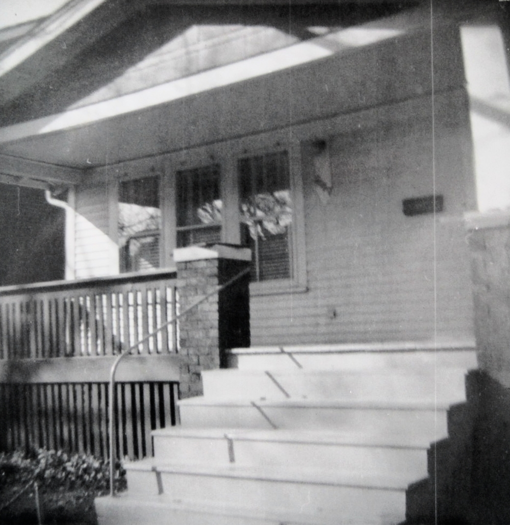 My parent's home, 2457 Woodmere, Detroit