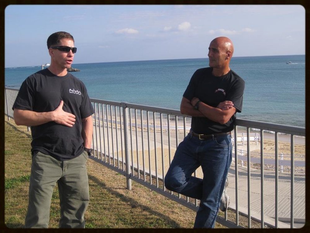 Saturday, January 21, 2012. With Captain Jonathan Joseph, Commanding Officer, Company C, 3rd Marine Reconnaissance Battalion, Camp Schwab, Okinawa.