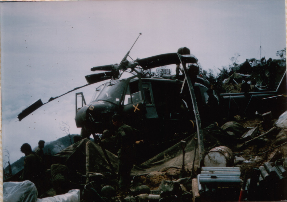 Signal Hill, second crashed Huey