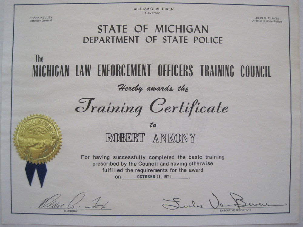Police Academy Certification