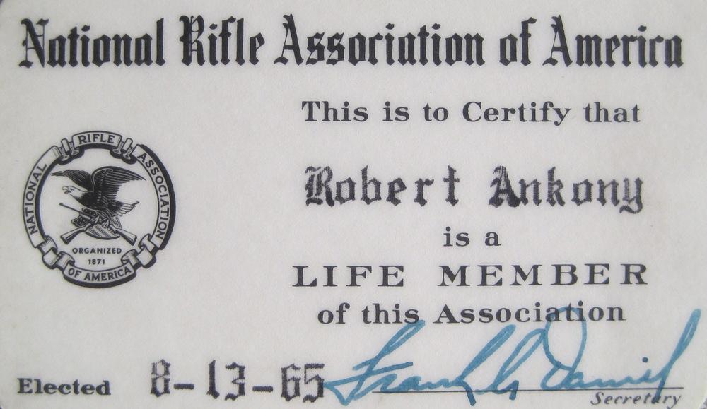 An NRA Life Member at age 16