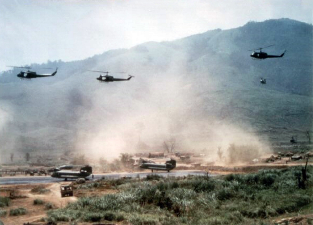 LZ Stud east of Khe Sanh