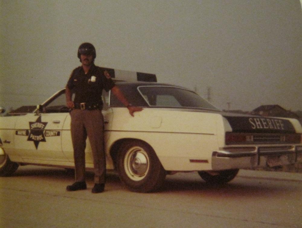 Deputy Robert Ankony, Northville Township, 1973