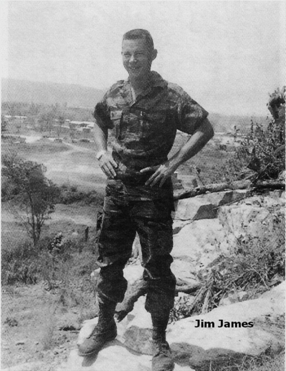 CPT James D.James, Camp Radcliff