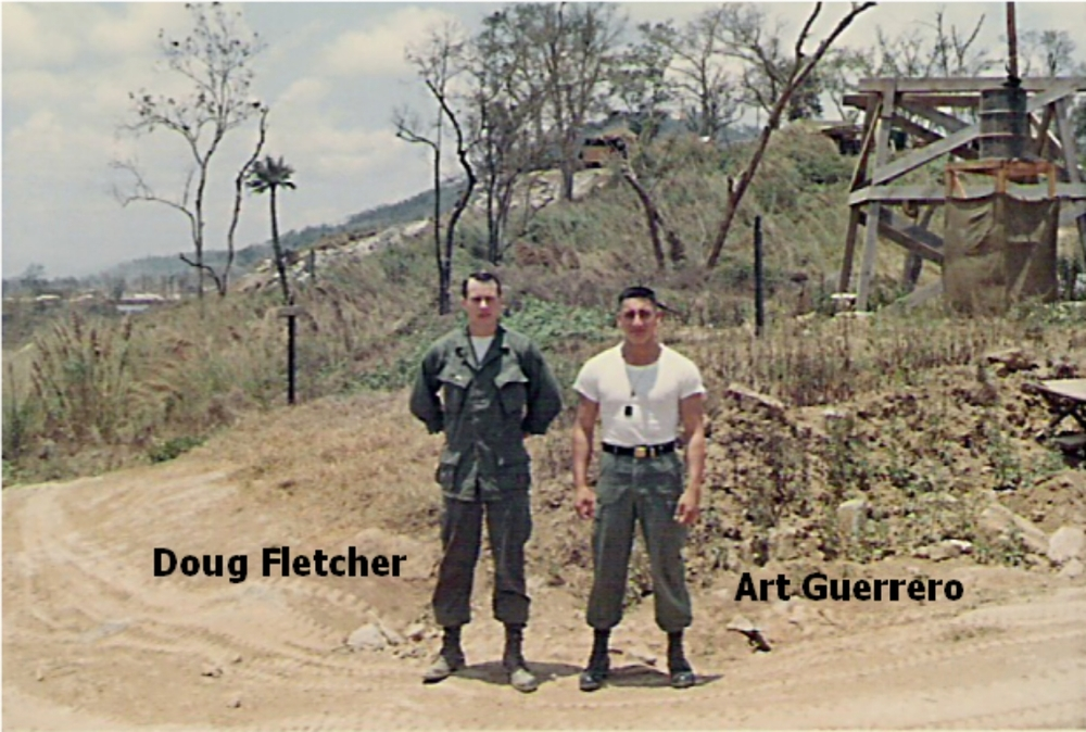 Doug Fletcher and Art Guerrero, Camp Radcliff
