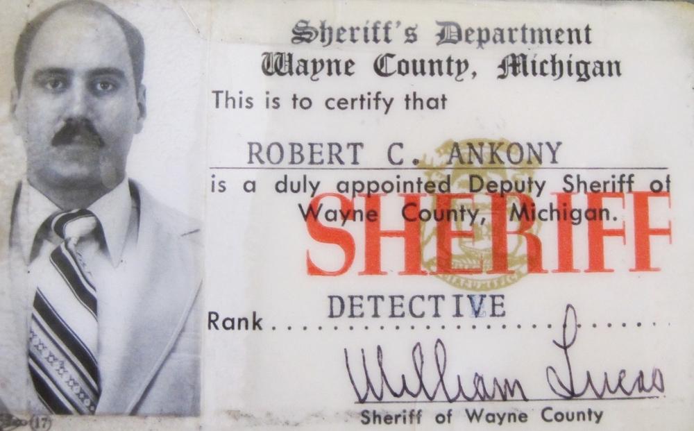 My sheriff's departmet identication