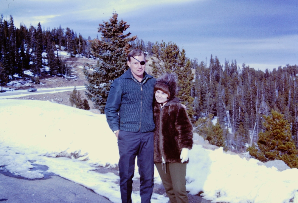 Bill Carpenter and Pam, fall 1967