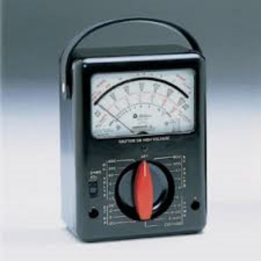 The Triplett Model 630 A-Volt-OHM-Milliammeter