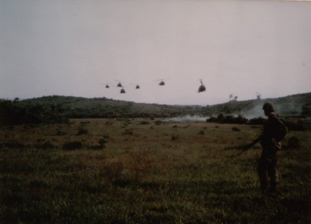 The Air Cavalry arriving to our rescue (Charlie Co., 2nd of the 8th)