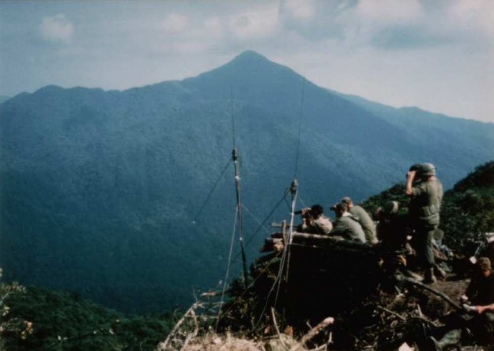 Signal Hill, overlooking A Shau Valley