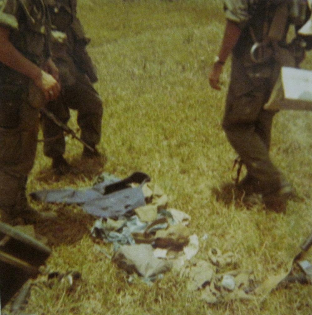 The Vietcong's belongings