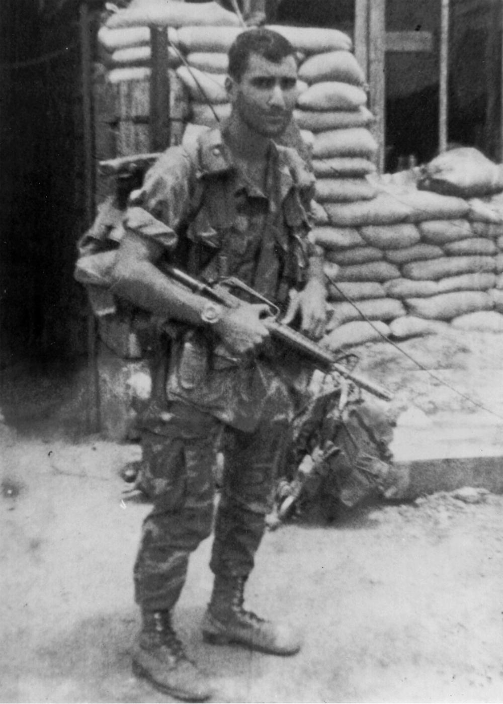 Sgt. Robert Ankony, LZ Betty