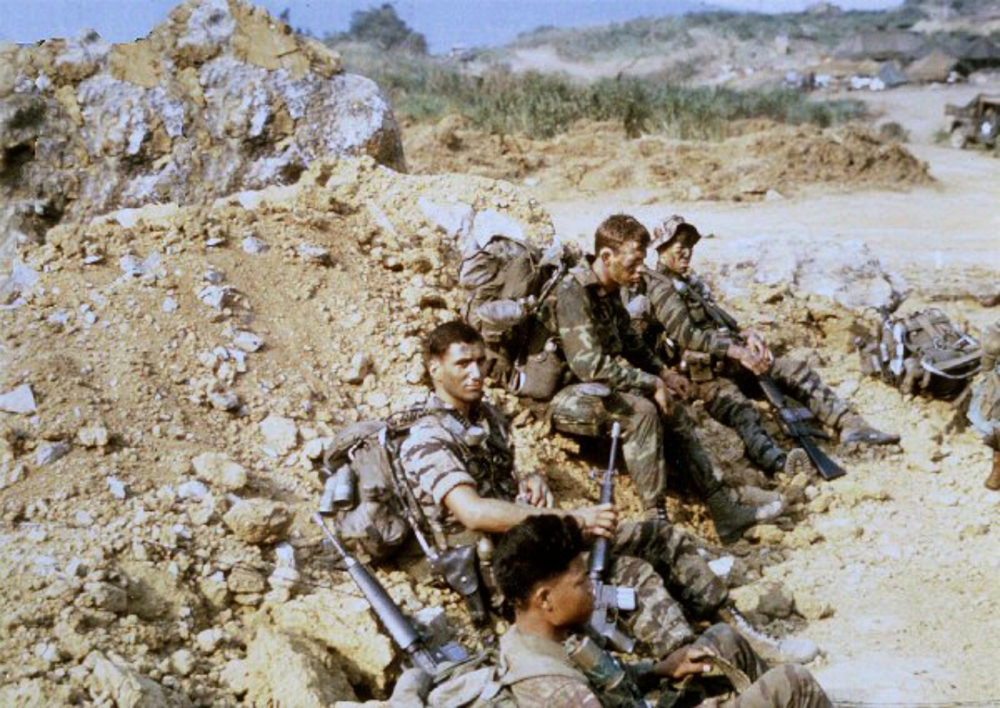 LZ Stud, awaiting our Khe Sanh insertion