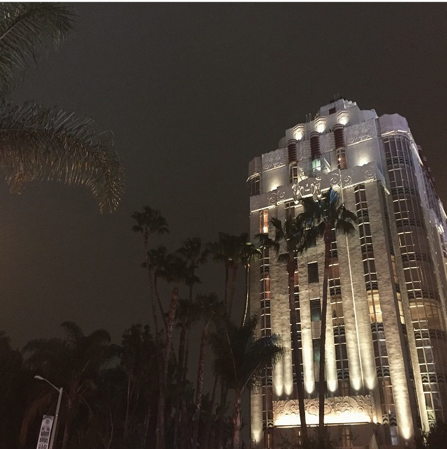 The Sunset Tower Hotel.