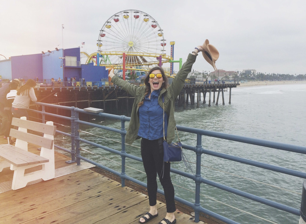 Couldn't have skipped a trip to the Santa Monica Pier.