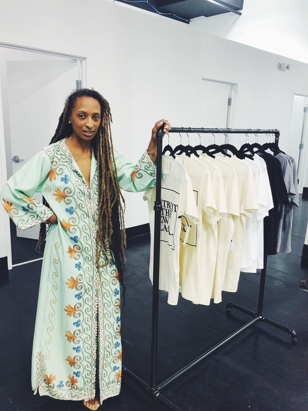 Roslyn Karamoko, founder of Détroit Is The New Black