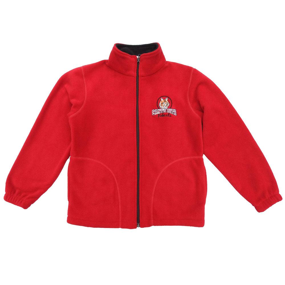 8771e76b4ec49 Santa Rita Bobcat Baseball Cap. 12.00. SR fleece red.jpg