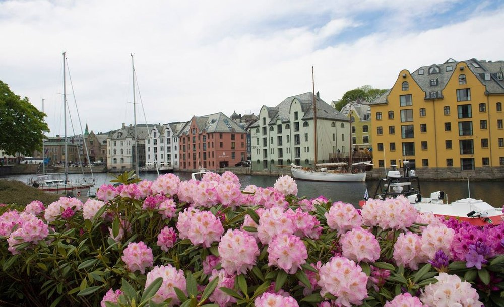 Alesund, Norway - June 2017