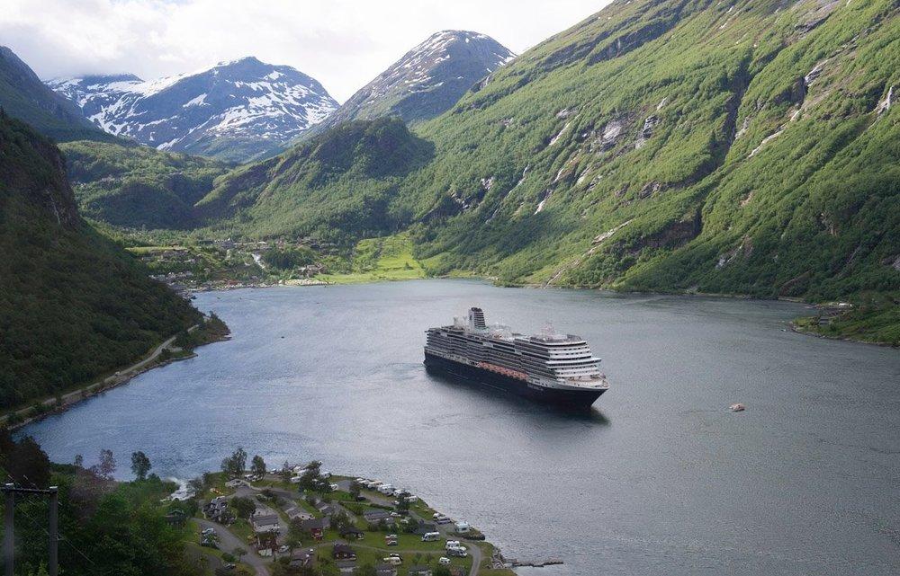 ms Koningsdam - Geiranger Fjord