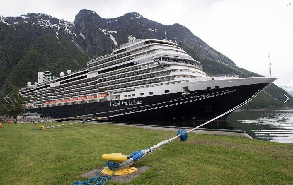 ms Koningsdam - Eidfjord, Norway