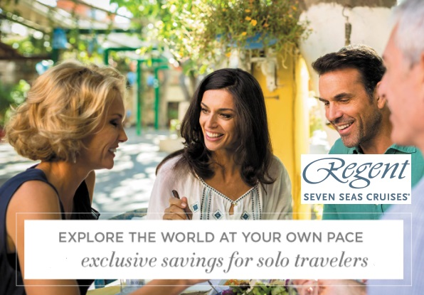 Meet like-minded travelers while exploring the scenic beauty and history of Ho Chi Minh City, hiking through Tongass National Forest or strolling through an open-air Provençal Market. The world's greatest destinations await with REGENT's  Single Supplements  starting at only 50% above the advertised per person, double occupancy 2-for-1 fares on select cruises.   Contact Travel Time   for more details!