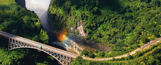Drive in a private reserve bordering Kruger National Park, and experience the jaw-dropping beauty of Victoria Falls.