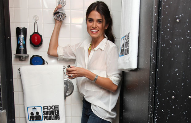 MensFitness.com: Nikki Reed's Shower Secrets
