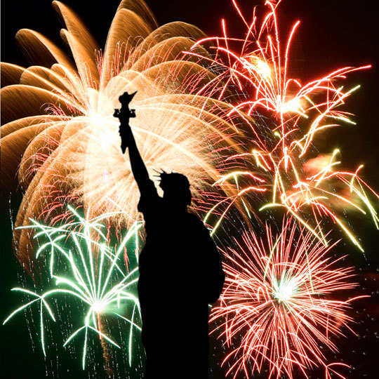 EagleCreek.com:   The Top Six Fireworks Shows on July 4th