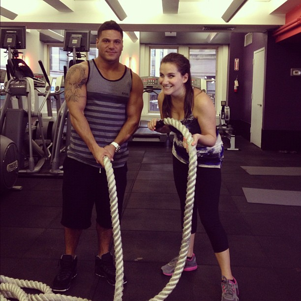MensFitness.com: How to Work Out With Your Girlfriend